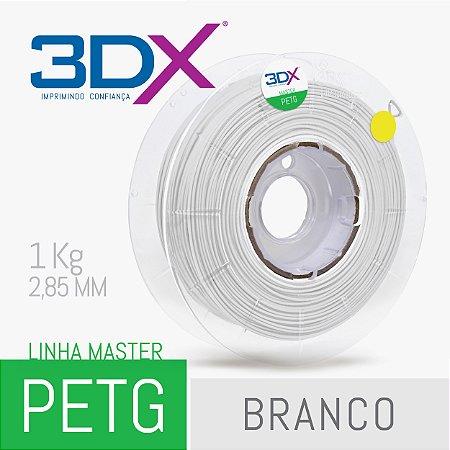Filamento PETG 1Kg 2,85 Branco