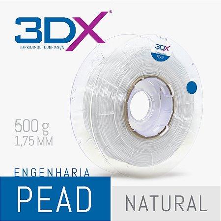 Filamento PEAD 500g 1,75 Natural