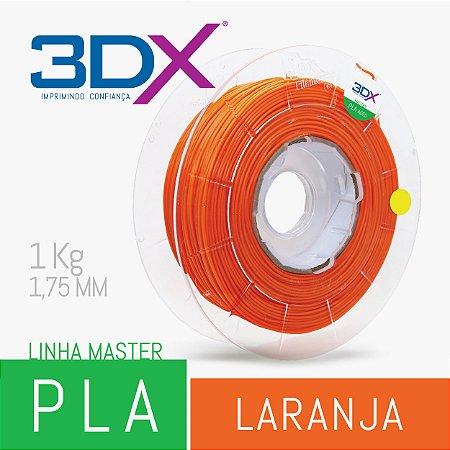 Filamento PLA HT 1kg 1,75 Laranja