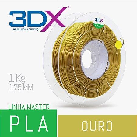 Filamento PLA HT 1kg 1,75 Ouro