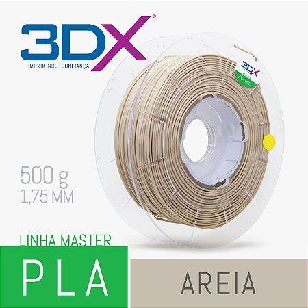 Filamento PLA HT 500g 1,75 Areia (Bege)