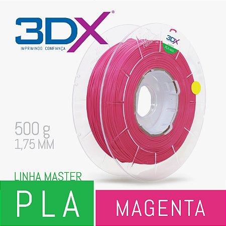 Filamento PLA HT 500g 1,75 Magenta (MG PLRS002)