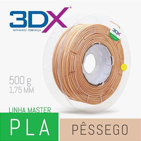 Filamento PLA HT 500g 1,75 Pêssego ou Nude