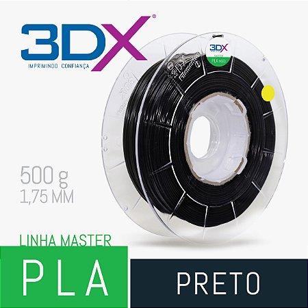 Filamento PLA HT 500g 1,75 Preto
