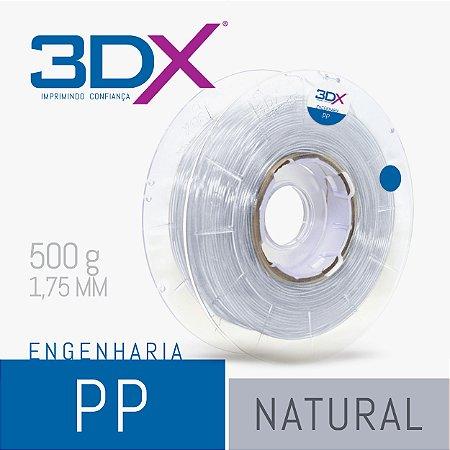Filamento PP Natural 1,75 Mm 500g (polipropileno)