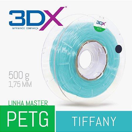 Filamento PETG 500g 1,75 Tiffany Translucido