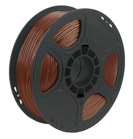 Filamento TPU Flexível D40 1kg 1,75 Marrom (Realmaker)