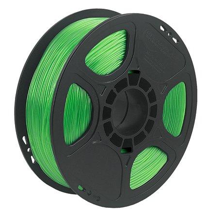 Filamento TPU Flexível D40 1kg 1,75 Verde Claro (Realmaker)