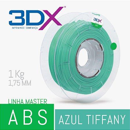 Filamento ABS 1kg 1,75 Azul Tiffany
