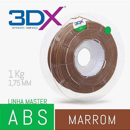 Filamento ABS HI 1kg 1,75 Marrom (EVMA003)