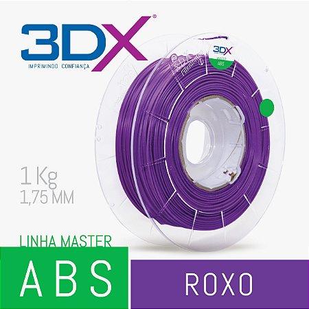 Filamento ABS 1kg 1,75 Roxo
