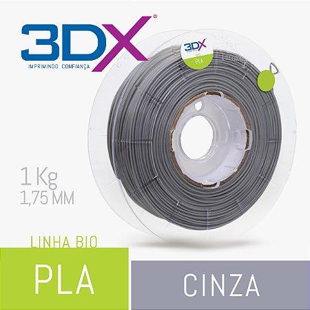 Filamento Pla Bio (Cana) Cinza 1,75 Mm 1kg