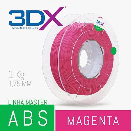 Filamento ABS 1kg 1,75 Magenta