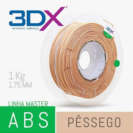 Filamento ABS HI 1kg 1,75 Pêssego