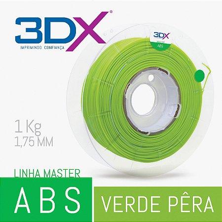 Filamento ABS HI 1kg 1,75 Verde Pera