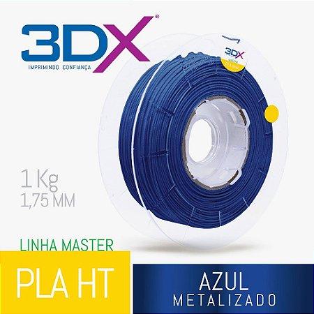 Filamento PLA HT 1kg 1,75 Azul Metal