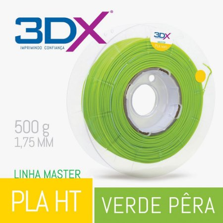 Filamento PLA HT 500g 1,75 Verde Pera