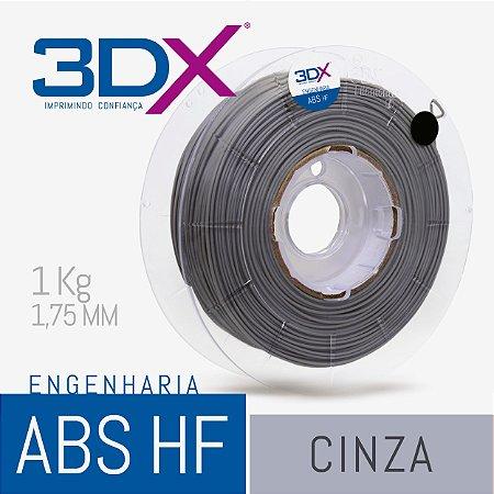 Filamento ABS HF 1kg 1,75 Cinza