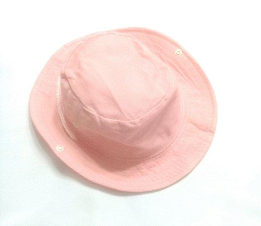Chapéu pescador rosa