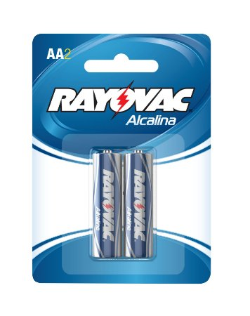 Pilha Alcalina Pequena AA  - Rayovac