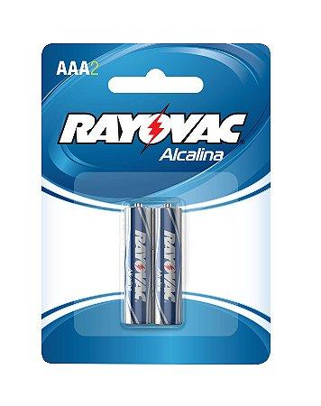 Pilha Alcalina Palito AAA  - Rayovac