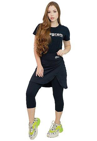 Calça Corsário Moda Fitness Evangélica Anagrom Ref.8002