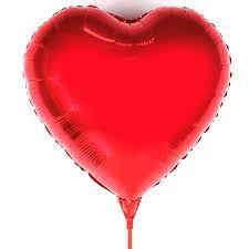 Balão Formato coração 20cm