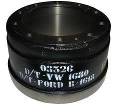 Tambor Freio Traseiro Volkswagem 18.310/Ford Cargo