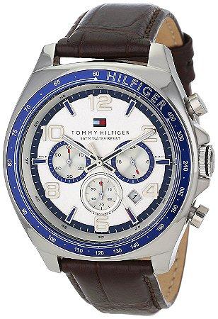 Relógio Tommy Hilfiger 1790937 Unisex – Pulseira de Couro