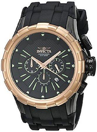 Relógio Invicta masculino Modelo 16977 I-Force Quartz - Preto