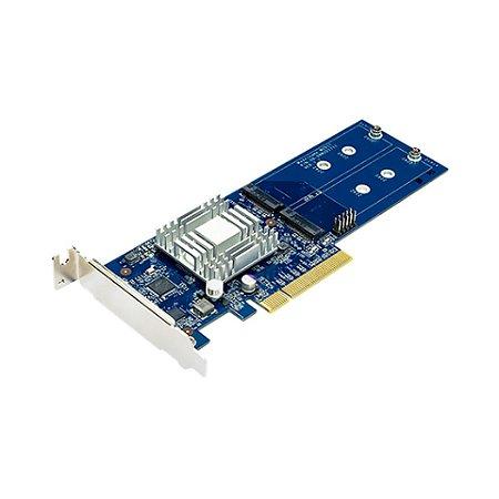 Placa PCIe Cache Synology para até 2 unidades de SSD padrão M.2 - M2D17