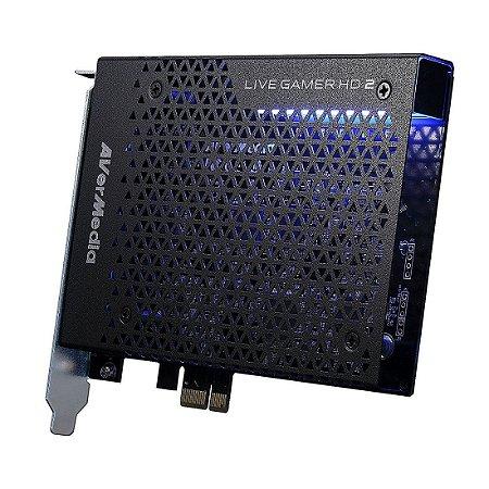 Placa de Captura AVerMedia Live Gamer HD 2 Full HD 1080p 60 Record and Stream PCIe Ryzen Support (GC570)