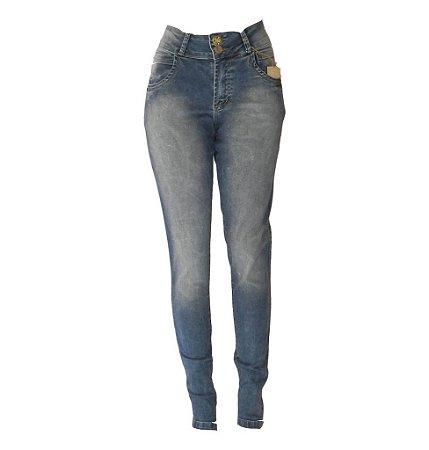 b272f81864 Calça Jeans Feminina Lavada Plus Size - Preferencial Jeans -  VAREJO ...