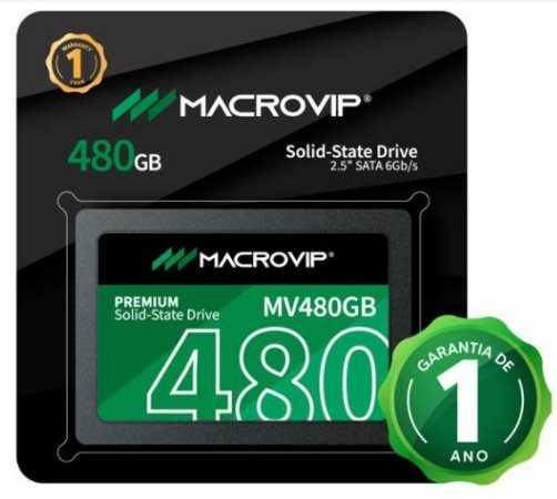 SSD 480GB MACROVIP