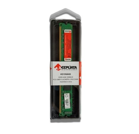 MEMORIA KEEPDATA 4GB (1X4) DDR3 1333MHZ KD13N9/4G