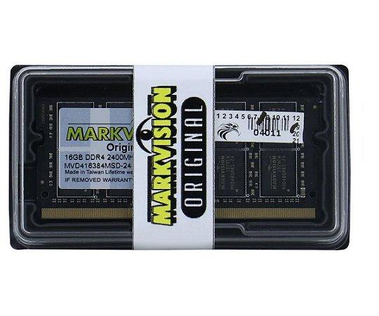 MEMORIA NOTEBOOK MARKVISION 16GB (1X16) DDR4 2400MHZ MVD416384MSD-24