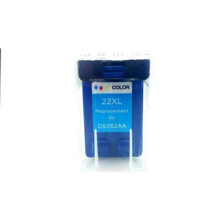 Cartucho de Tinta Compatível HP 22XL 28XL 57XL Colorido D1300 D1311