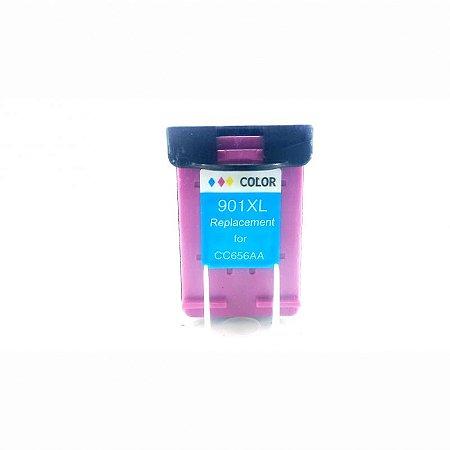 Cartucho de Tinta Compatível HP 901XL Colorido J4580 J4680 J4660 J4500