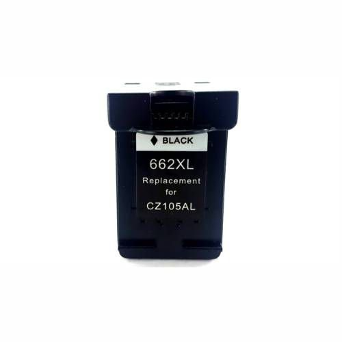 Cartucho de Tinta Compatível HP 662XL Preto - CZ105AB 3516 2515 2516