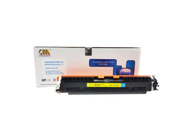 Toner Compatível HP CE311a CF351a Ciano M175 M275 CP1020 CP1025 M176