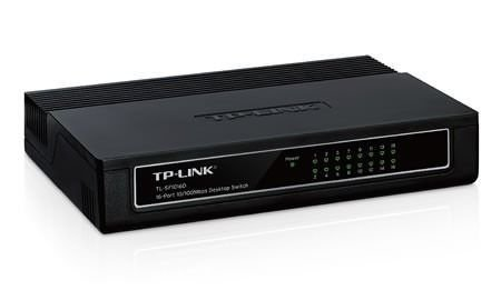 Hub Switch 16 Portas TP-Link 10/100 Mbps TL-SF1016D