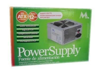 Fonte ATX Mtek Power Supply 650w