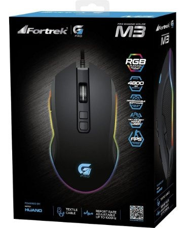 Mouse Gamer Fortrek Pro M3 RGB
