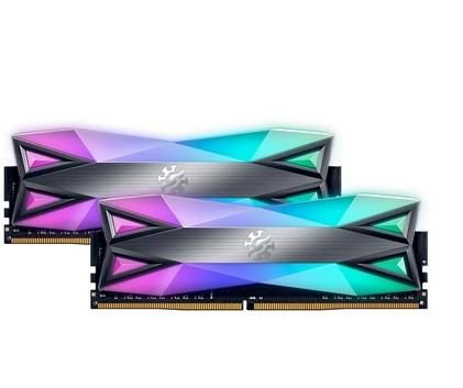 Memória XPG Spectrix D60G RGB 16GB 2x8, 3000MHz, DDR4