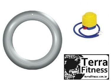 Anel posicionador para bola Suiça em pvc Inflável + bomba - Terra Fitness