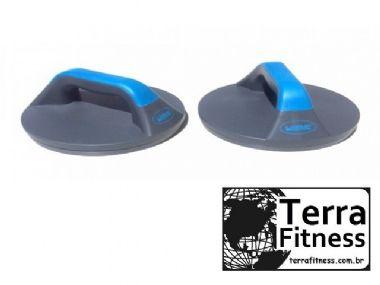 Apoio para flexão de braço giratório - Terra Fitness