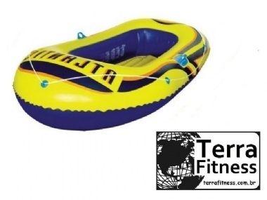 Barco tipo bote inflável Atlantic192cm X 115cm - Terra Fitness