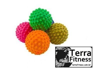 Bola cravo anti-stress para mãos e pés Ø 6cm - Terra Fitness