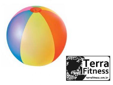 Bola gigante inflável para piscina - Ø1,22m - Terra Fitness