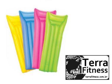 Colchão inflável para piscina - 183cm X 69cm - Terra Fitness